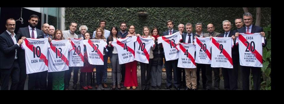La Cooperación Española se une a la campaña contra la violencia de género #AsíNoJuegaPerú